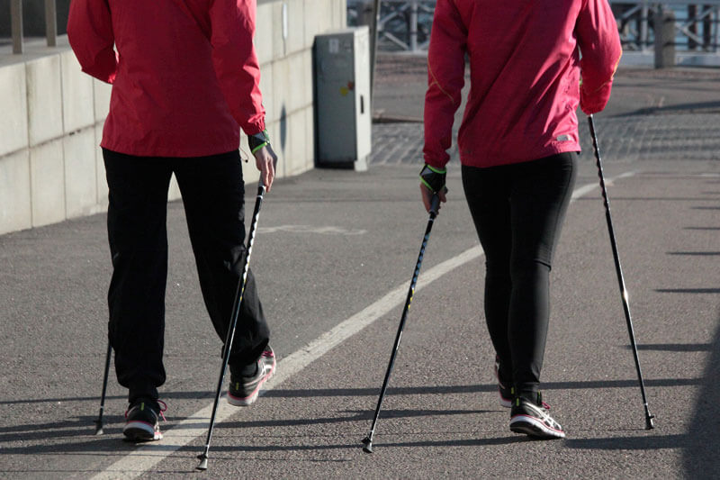 A nordic-walking jó a szívnek